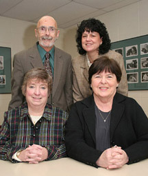Photo of the 2006 recipients of the NISOD Excellence Awards.
