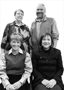 Photo of the 2007 recipients of the NISOD Excellence Awards.