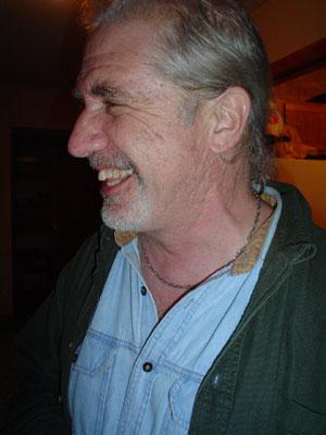 Photo close-up of Dan smiling