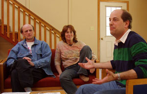 Photo of a group discussion