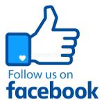Follow us on FB logo